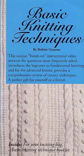 Groome ,Bobbie: 0410 - Basic Knitting Tech.