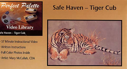McCullah, Mary: 11010 - Safe Haven Tiger Cub
