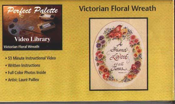 Paillex, Laure: 11012 - Victorian Floral Wreath