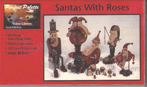 Botts, Jill: 11040 - Santas /w Roses
