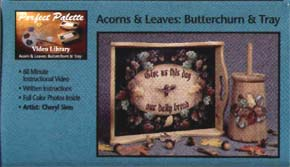 Sims, Cheryl: 11044 - Acorns and Leaves