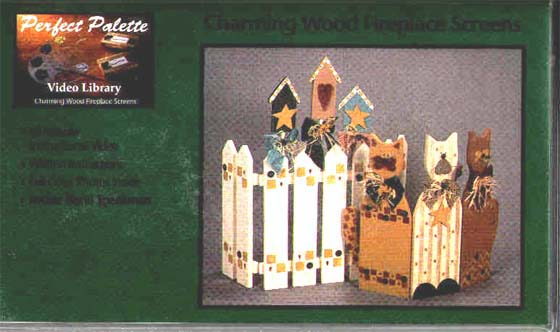 Speakman, Becki: 11057 - Charming Wood Fireplace Screens