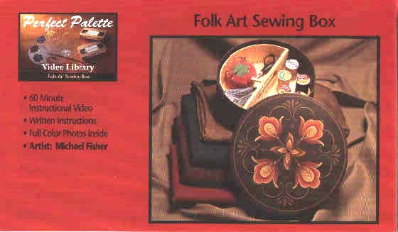 Fisher, Michael: 11071 - Folk Art Sewing Box
