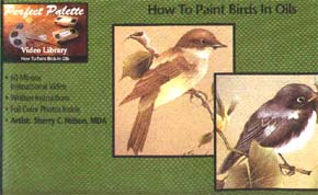 Nelson, Sherry: 11093 - How to Paint Birds in Oils