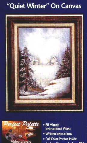 Archer, Sharon: 11094 - Quiet Winter on Canvas