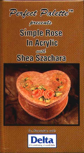Szachera, Shea: 11108 - Simple Rose in Acrylic
