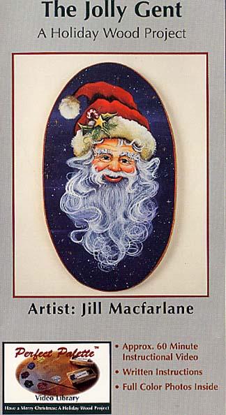MacFarlane, Jill: 11111 - The Jolly Gent-Vintage Santa Portrait