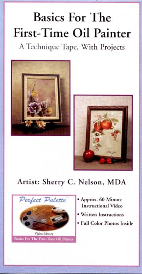 Nelson, Sherry: 11124 - Basics, First Time Oil Painter