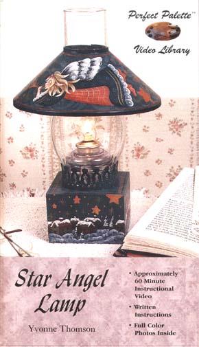 Thomson, Yvonne: 11143 - Star Angel Lamp