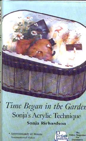 Richardson, Sonja: 11154 - Time Began in the Garden