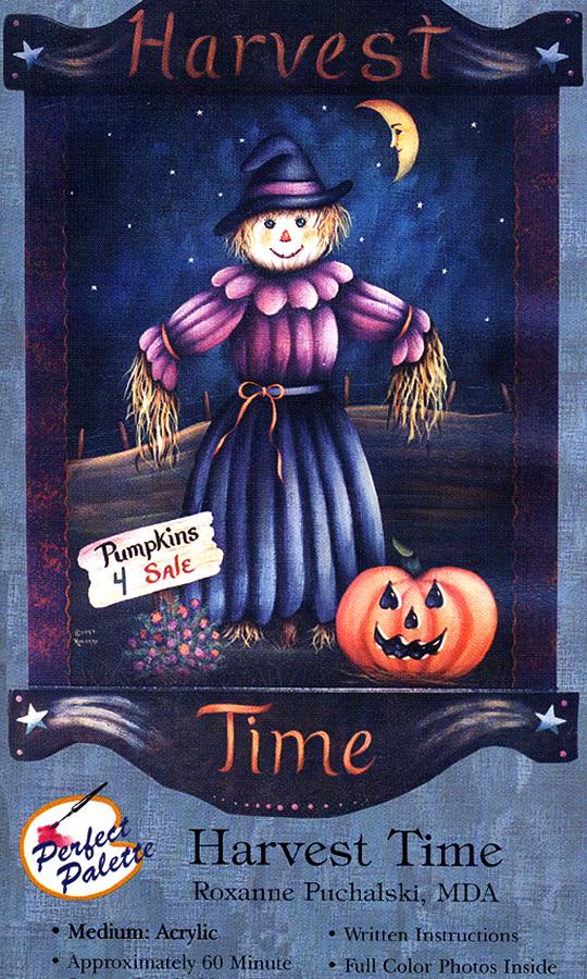 Puchlski, Roxanne: 11173 - Harvest Time - Scarecrow