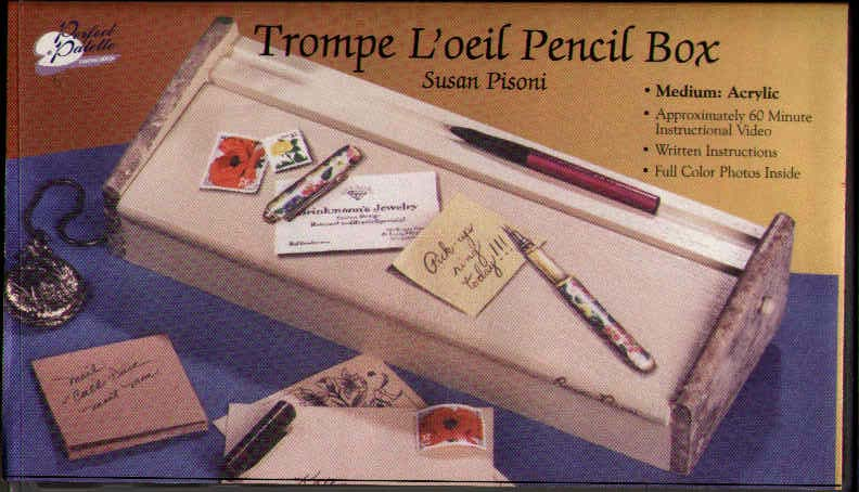 Pisoni, Susan: 11176 - Trompe L'oeil Pencil Box