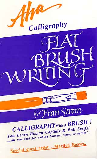 Strom, Fran: AC13 - Flat Brush Writing