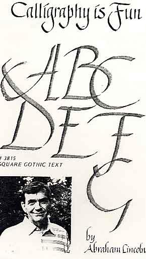 Lincoln, Abraham: AL15 - Square Gothic Text