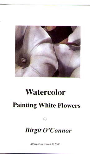 O'Connor, Birgit: BC03 Painting White Flowers