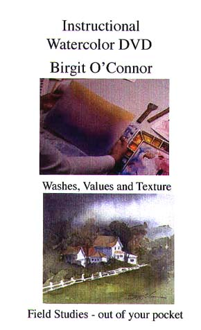 O'Connor, Birgit: BC04d - Washes, Values, Texture & Field Studies