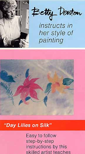Denton, Betty: BD08 - Day Lillies on Silk