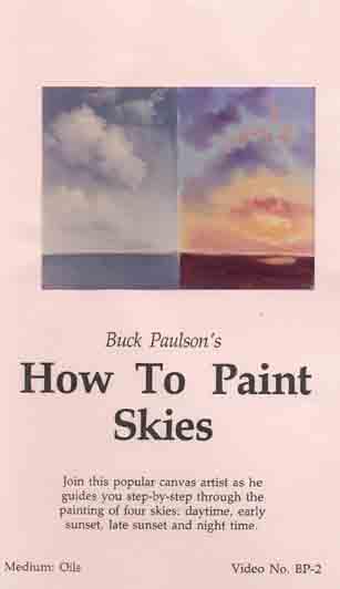 Paulson, Buck: BP02 - How to Paint Skies