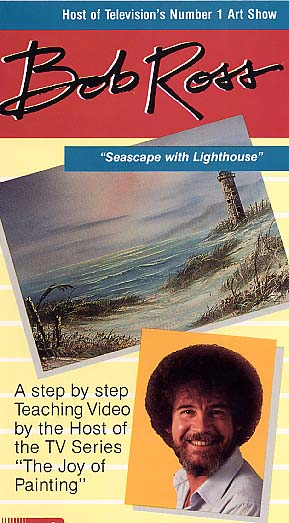 Ross, Bob: BR07 - Seascape with Lighthouse