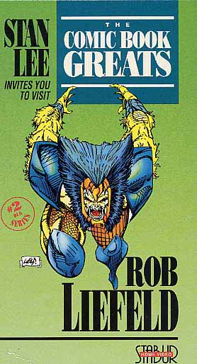 Liefeld, Rob: CBG02 - Comic Book Greats Vol.2