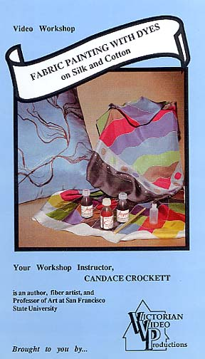 Crockett, Candace: CCR-1 - Fabric Ptg. on Silk & Cotton