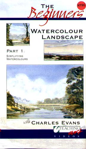 Evans, Charles: CE3 - Beg. Watercolor Landscape Pt. 1