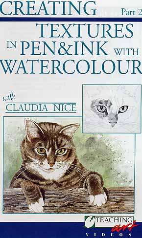 Nice, Claudia: CN02 Pen &amp; Ink w/ Watercolor Pt.2
