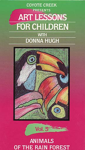 Hugh, Donna: CP5264 - Animals of the Rain Forest