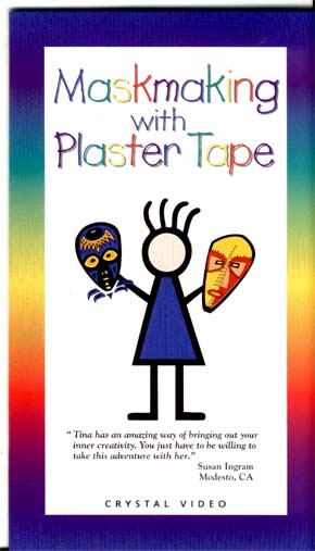 Cintron, Tina: CP6140 - Maskmaking with Plaster Tape