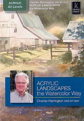 Harrington, Charles: CPH1 - Acrylic Landscapes the Watercolor Way