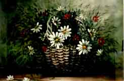 Thompson, Carolyn: CT01 - My Daisies, in Basket