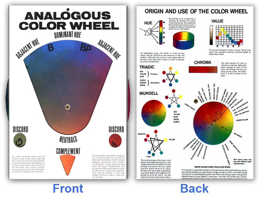 Reed, Hal: CW001 - Analogous Color Wheel