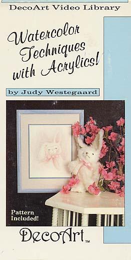 Westegaard, Judy: DAS24 - Watercolor Tech. with Acrylics
