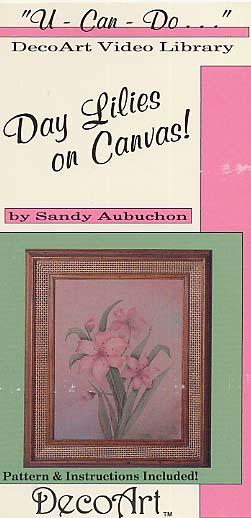 Aubuchon, Sandy: DAS33 - Day Lillies on Canvas