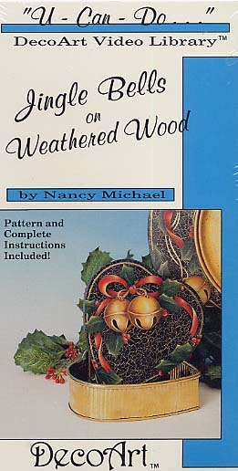 Michael, Nancy: DAS40 - Jingle Bells on Weathered Wood