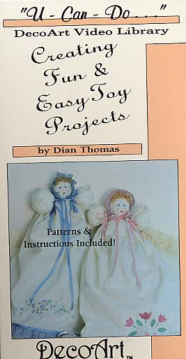 Thomas, Dian: DAS51  Creating Fun Easy Toy Projects