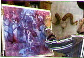 Getz, Don: DG2 Watercolor on Gesso