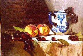 Leffel, David: DL02 - Painting the Still Life