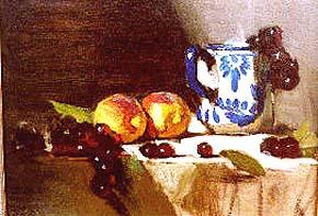 Leffel, David: DL02 - Painting the Still Life