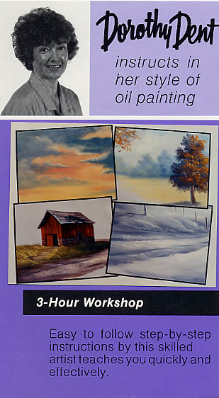 Dent, Dorothy: DTW001 - Oil Painting Workshop
