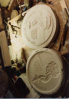 Reed, Hal: EL1920 - Bas Relief Coin Medals