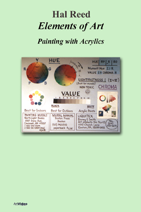 Reed, Hal: EL3132 - Painting with Acrylics