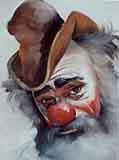 Jenkins, Gary: GJ100 - Clown 1 Portrait