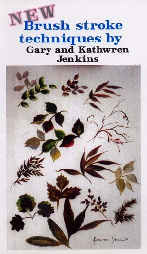 Jenkins, Gary: GJ114 - Floral Brush Technique