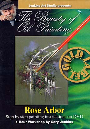 Jenkins, Gary: GJ127 - The Beauty of Oil Painting - Rose Arbor