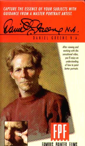 Greene, Daniel: GR601 - Pastel Portrait: Jim