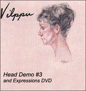 Vilppu, Glenn: GV24 - Head Drawing Demo #3