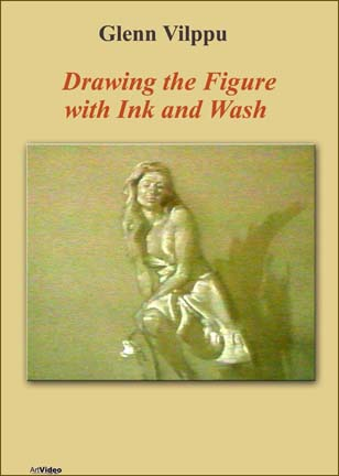 Vilppu, Glenn: GV2728 - Drawing the Figure-Ink & Wash