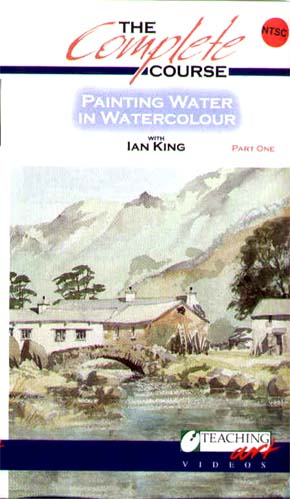King, Ian: IK04 Painting Water in Watercolor Pt. 1