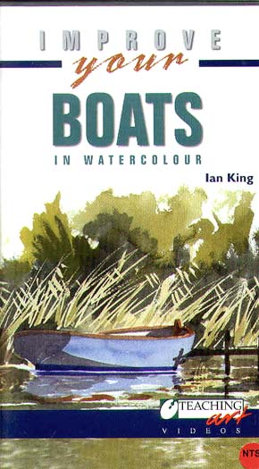 King, Ian: IK06 Boats in Watercolor